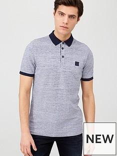 boss-pself-contrast-collar-polo-shirt-navy
