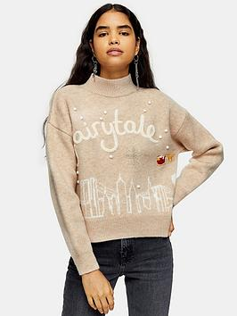 topshop-topshop-new-york-christmas-jumper-oat