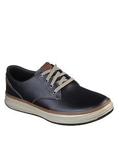 skechers-moreno-gustom-leather-trainers-black