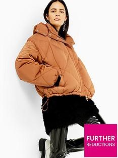 topshop-sampha-padded-jacket-caramel