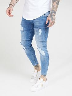 sik-silk-distressed-skinny-jeans