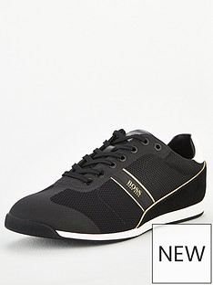 boss-glaze-low-profile-trainers-black