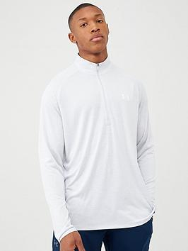 under-armour-tech-20-12-zip-top-greywhite