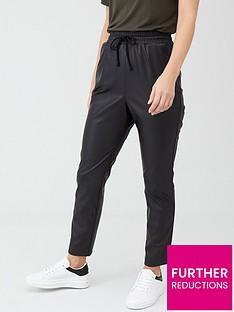 v-by-very-elasticated-waist-pu-trouser-black