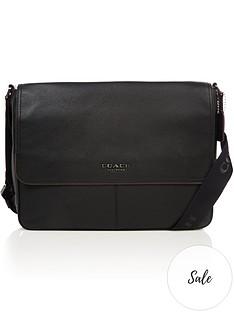 coach-menrsquos-metropolitan-soft-leather-messenger-bag-black