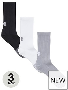 under-armour-heatgear-crew-socks-blackwhitegrey