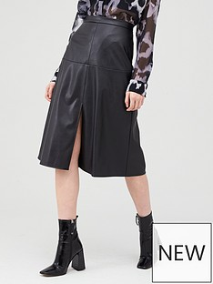 v-by-very-faux-leather-midi-skirt-black