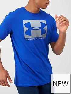 under-armour-sportstyle-boxed-logo-t-shirt-blue