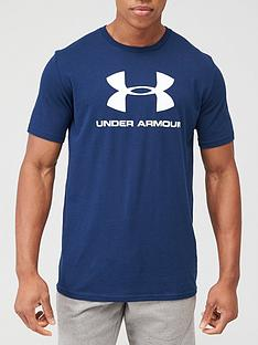under-armour-trainingnbspsportstyle-logo-t-shirt-academy