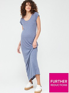 mama-licious-maternity-nella-jersey-maxi-dress-blue