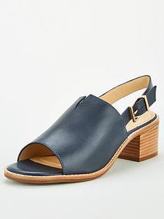 carvela-comfort-ace-heeled-sandal-navy
