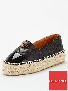 kurt-geiger-london-morella-eagle-espadrille-black