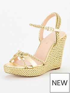 kurt-geiger-london-neile-wedge-sandal-gold