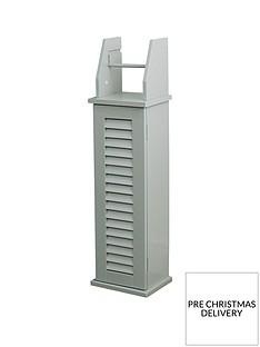 lloyd-pascal-atlanta-toilet-roll-holder-grey