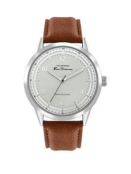 ben-sherman-ben-sherman-silver-and-blue-detail-dial-tan-leather-strap-mens-watch