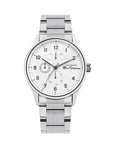 ben-sherman-white-multi-dial-stainless-steel-bracelet-mens-watch