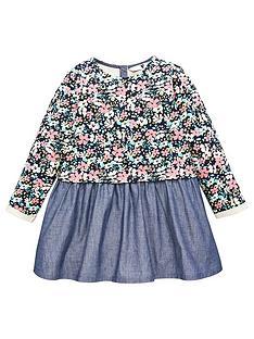 v-by-very-girls-floral-hem-sweat-dress-multi
