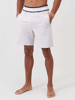 boss-bodywear-heritage-lounge-shorts-grey