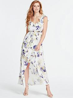 guess-isabella-floral-print-dress-white