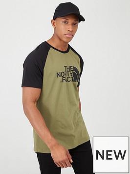 the-north-face-short-sleeve-raglan-easy-t-shirt-khaki
