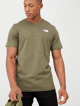 the-north-face-short-sleeve-redbox-t-shirt-olive