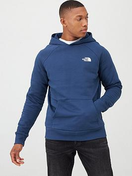 the-north-face-raglan-redbox-pullover-hoodie-blue