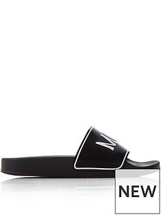 mcq-alexander-mcqueen-infinity-sliders-black