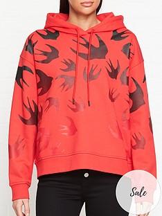 mcq-alexander-mcqueen-swallow-code-hoodie-red