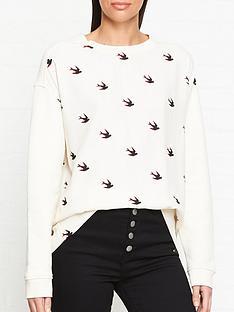 mcq-alexander-mcqueen-swallow-umeko-sweatshirt-off-white
