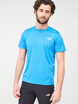 the-north-face-reaxion-red-box-t-shirt-blue-heather