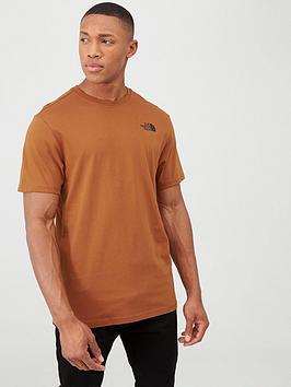 the-north-face-short-sleeve-redbox-t-shirt-caramel