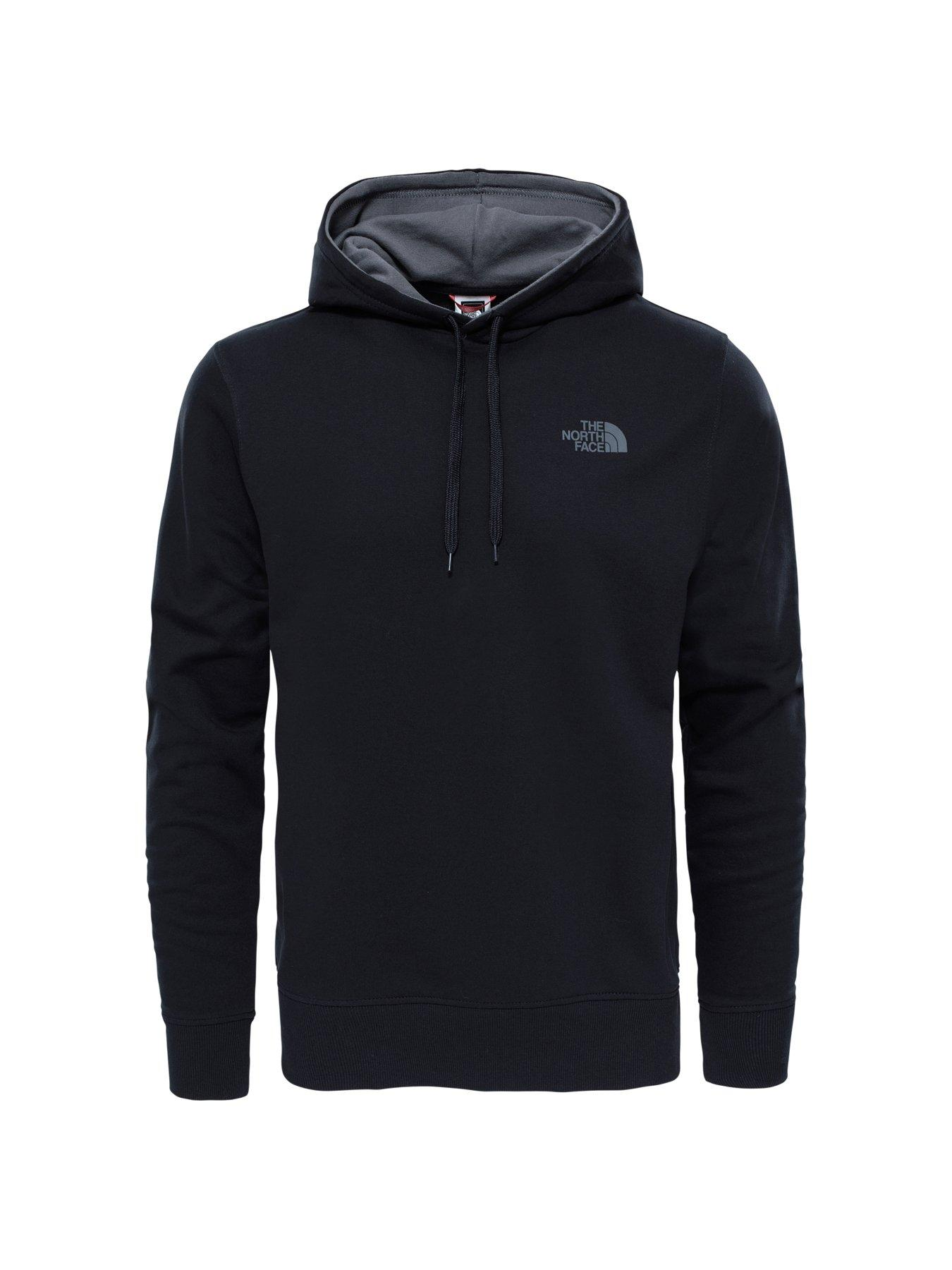 The North Face Mens Hoodie Pullover Performance Sweatshirt Long Sleeve Logo New