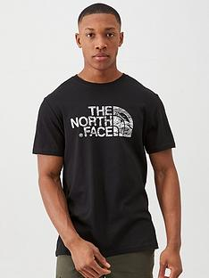 the-north-face-short-sleeve-woodcut-dome-t-shirt-black