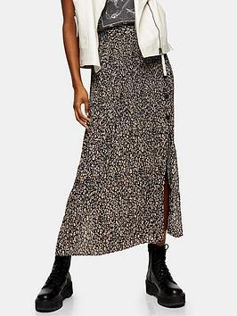 topshop-leopard-crystal-pleat-midi-skirt-brown