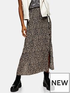 topshop-topshop-leopard-crystal-pleat-midi-skirt--brown