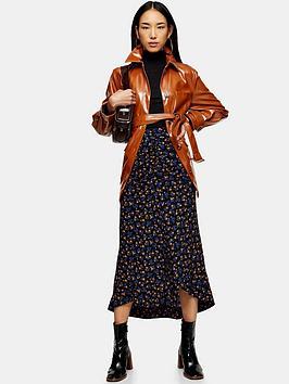 topshop-floral-trumpet-midi-skirt-indigo