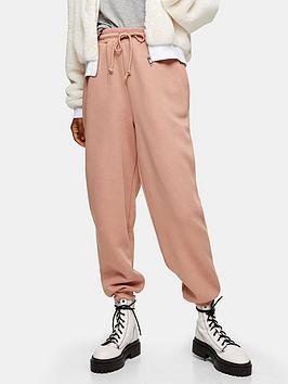 topshop-petite-clean-soft-joggers-pink
