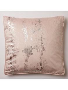michelle-keegan-home-embossed-velvet-cushion
