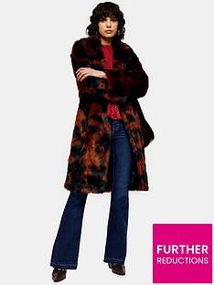 topshop-moo-print-faux-fur-coat-multi