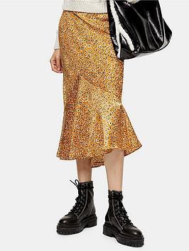 topshop-topshop-leo-satin-flounce-midi-skirt-mustard