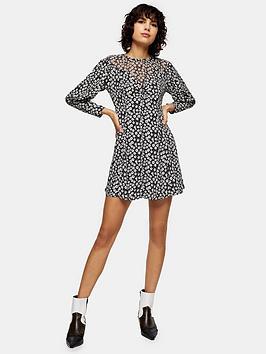 topshop-twist-grunge-mini-dress-mono