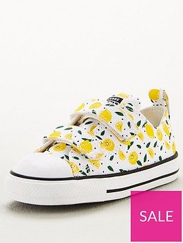 converse-chuck-taylor-all-star-2v-ox-lemon-toddler-trainers-whiteyellow