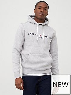 tommy-hilfiger-core-tommy-logo-hoodie-grey