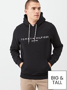 tommy-hilfiger-core-tommy-logo-hoodie-black