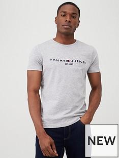 tommy-hilfiger-core-logo-t-shirt-grey
