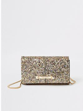 river-island-river-island-glitter-boxy-going-out-bag-gold