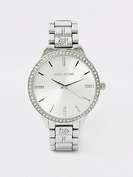 river-island-river-island-diamante-edge-bracelet-watch-silver