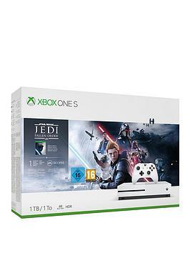 xbox-one-s-1tbnbspconsole-withnbspstar-wars-jedi-fallen-ordernbspandnbspoptional-extras