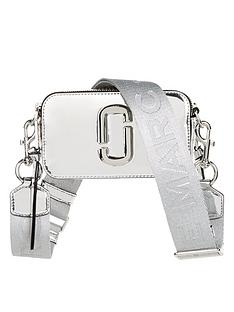 marc-jacobs-snapshot-mirror-finish-cross-body-bag-silver