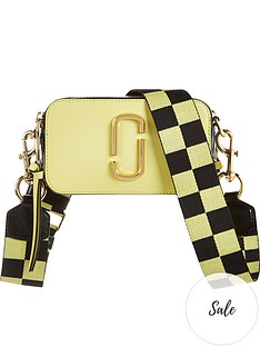 marc-jacobs-snapshot-checkerboard-strap-cross-body-bag-yellow